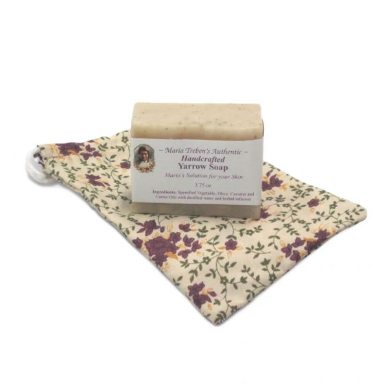 Yarrow Handcrafted Soap (3.75oz) - Maria Treben's Authentic™
