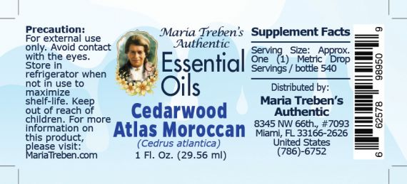 Cedarwood Atlas (Moroccan) - 30 ml.