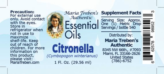 Citronella - 30 ml.