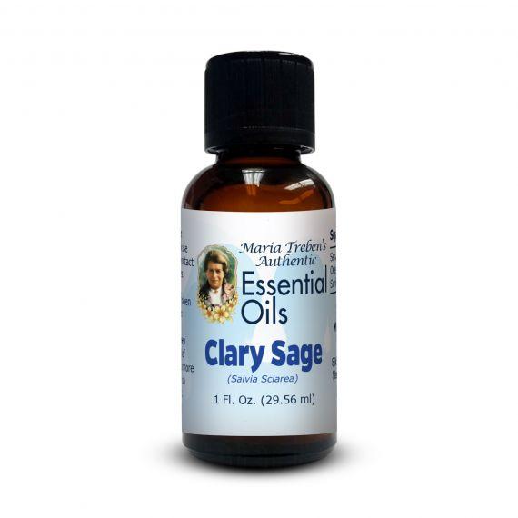 Clary Sage (Salvia sclarea) - 30 ml.