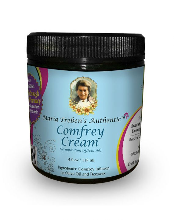 Comfrey Cream (4oz/118ml) - Maria Treben's Authentic™