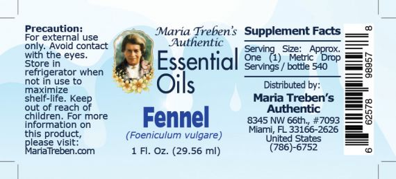 Fennel - 30 ml.