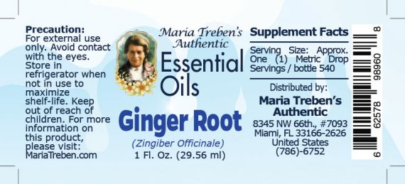 Ginger Root - 30 ml.