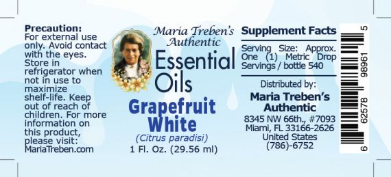 Grapefruit, White - 30 ml.