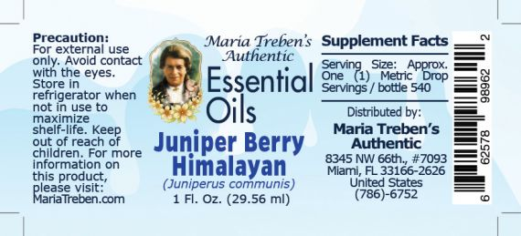 Juniper Berry (Himalayan) - 30 ml.