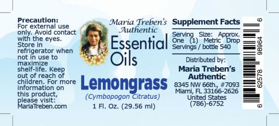 Lemongrass - 30 ml.