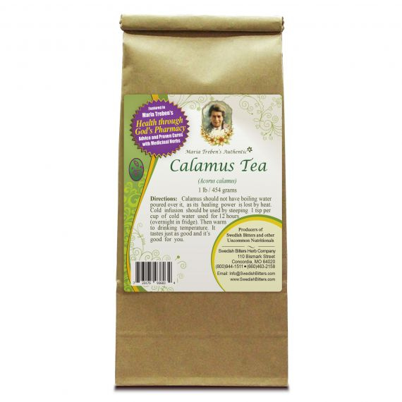 Calamus Tea (1lb/454g) BULK - Maria Treben's Authentic™