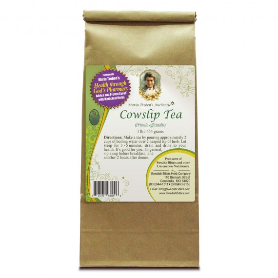 Cowslip Tea (1lb/454g) BULK - Maria Treben's Authentic™