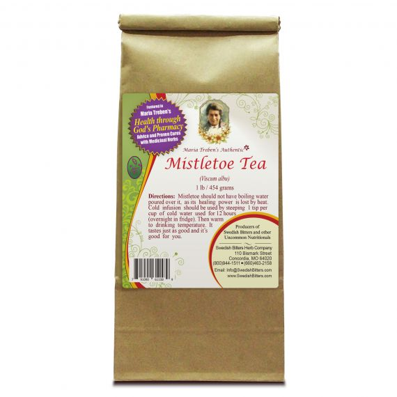 Mistletoe Tea (1lb/454g) BULK - Maria Treben's Authentic™