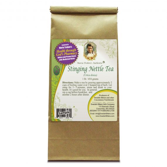 Stinging Nettle Tea (1lb/454g) BULK - Maria Treben's Authentic™