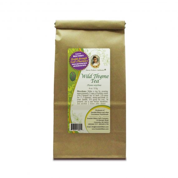 Wild Thyme Tea (4oz/113g) - Maria Treben's Authentic™