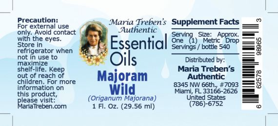 Majoram, Wild (Origanum majorana) - 30 ml.