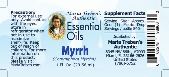 Myrrh - 30 ml.