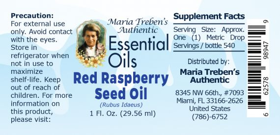 Red Raspberry Seed Oil (Rubus idaeus) - 30 ml.