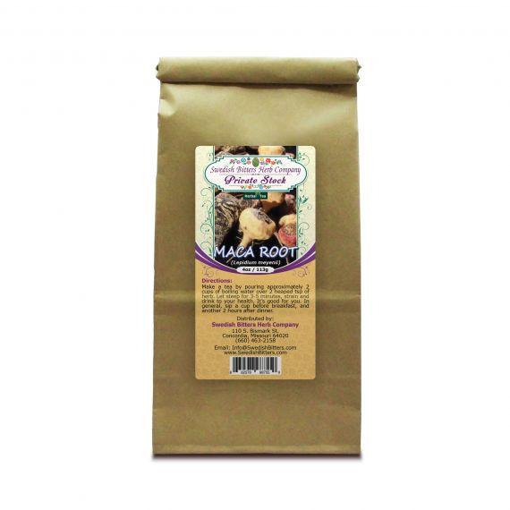 Maca Root (Lepidum meyenii) Herbal Tea (4oz/113g) - Swedish Bitters Herb Company Private Stock