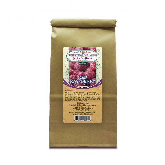 Red Raspberry (Rubus Idaeus) Herbal Tea (4oz/113g) - Swedish Bitters Herb Company Private Stock