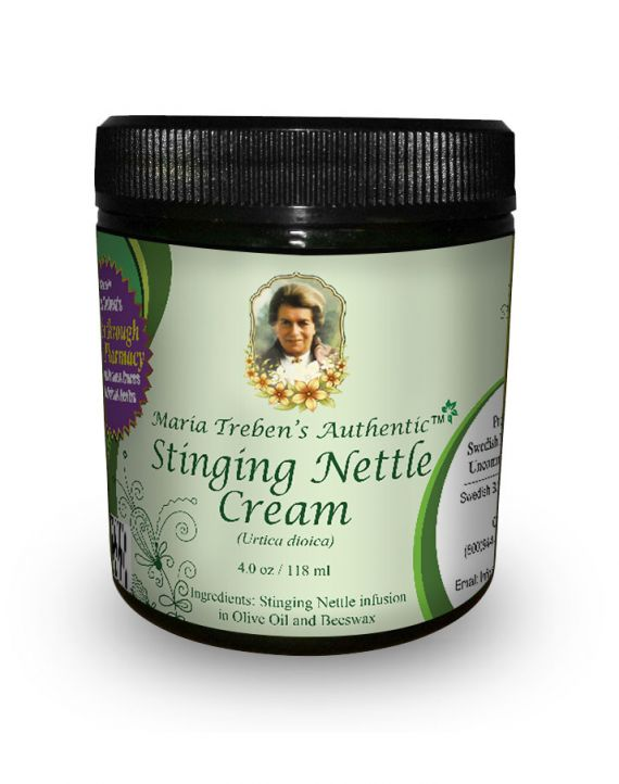 Stinging Nettle Cream (4oz/118ml) - Maria Treben's Authentic™