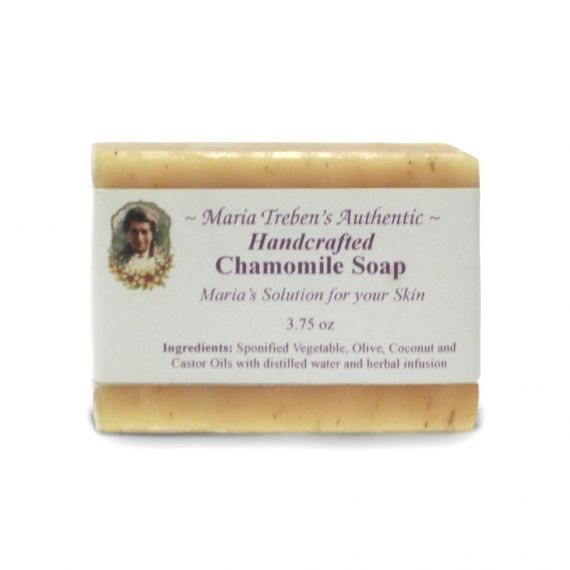 Chamomile Handcrafted Soap (3.75oz) - Maria Treben's Authentic™