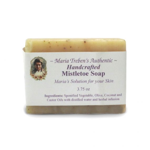 Mistletoe Handcrafted Soap (3.75oz) - Maria Treben's Authentic™