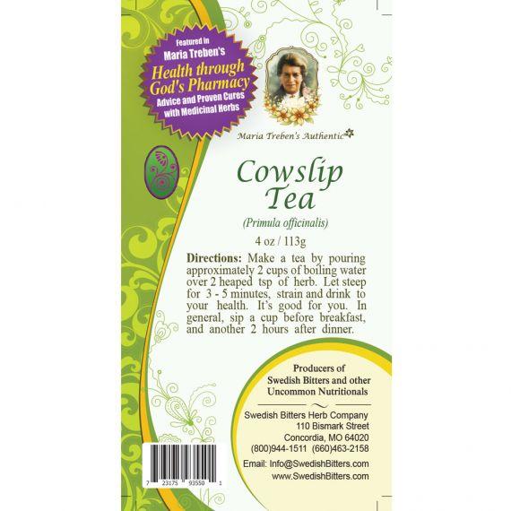Cowslip Tea (4oz/113g) - Maria Treben's Authentic™