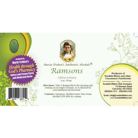 Ramsons Extract / Tincture (2oz/59ml) - Maria Treben's Authentic™