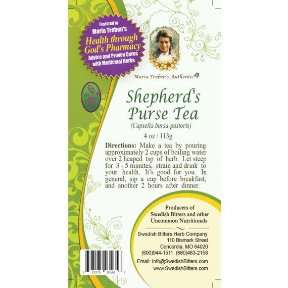 Shepherd's Purse Tea (4oz/113g) - Maria Treben's Authentic™