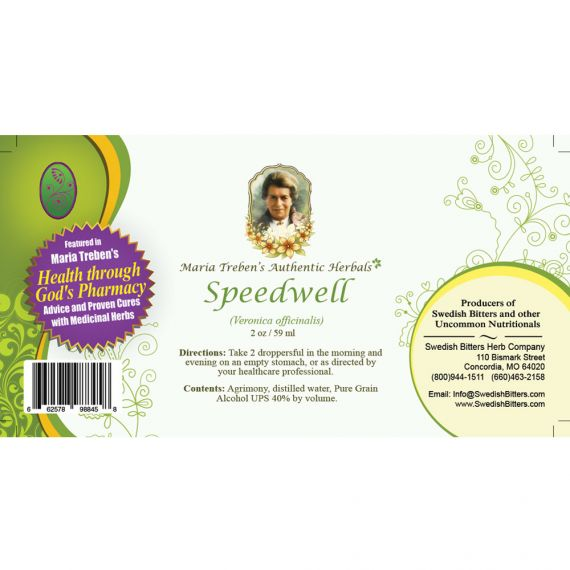 Speedwell Extract / Tincture (2oz/59ml) - Maria Treben's Authentic™