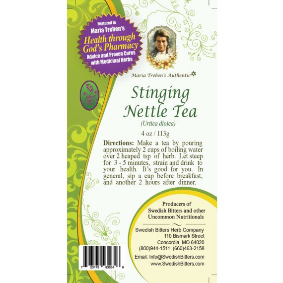 Stinging Nettle Tea (4oz/113g) - Maria Treben's Authentic™