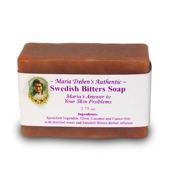 Swedish Bitters Handcrafted Soap (3.75oz) - Maria Treben's Authentic™