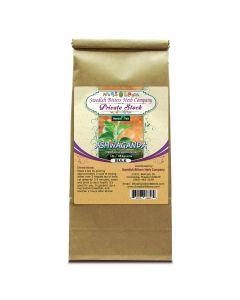 Ashwaganda Root (Withania somnifera) Herbal Tea (1lb/454grams) - Swedish Bitters Herb Company Private Stock