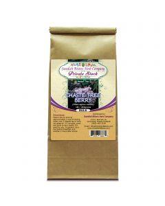 Chaste Tree Berry (Vitex agnus castus) Herbal Tea (1lb/454g) BULK - Swedish Bitters Herb Company Private Stock