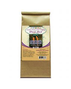 Cordyceps Mushroom (Cordyceps Sinensis ~ Cordyceps Gracilis) Herbal Tea (1lb/454g) BULK - Swedish Bitters Herb Company Private Stock