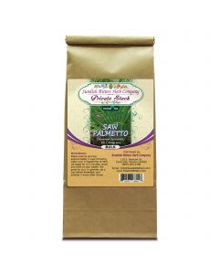 Saw Palmetto (Sarenoa Serrulata) Herbal Tea (1lb/454g) BULK - Swedish Bitters Herb Company Private Stock