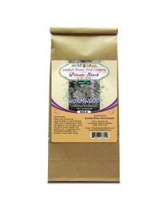 Wormwood Leaf (Artemisia Absinthium) Herbal Tea (1lb/454g) BULK - Swedish Bitters Herb Company Private Stock