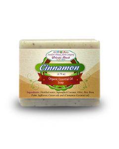 Cinnamon 3.75oz Bar Essential Oil Soap - Swedish Bitters Herb Company Private Stock