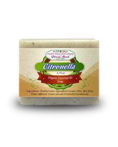 Citronella 3.75oz Bar Essential Oil Soap - Swedish Bitters Herb Company Private Stock