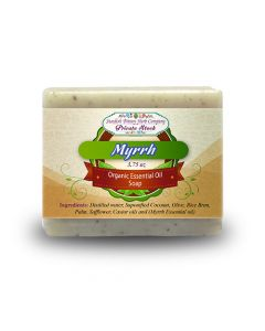 Myrrh 3.75oz Bar Essential Oil Soap - Swedish Bitters Herb Company Private Stock