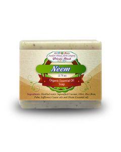 Neem 3.75oz Bar Essential Oil Soap - Swedish Bitters Herb Company Private Stock