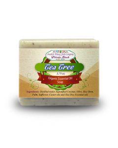 Tea Tree 3.75oz Bar Essential Oil Soap - Swedish Bitters Herb Company Private Stock