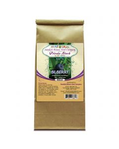 Bilberry (Vaccinium myrtillus) Herbal Tea (1lb/454g) BULK - Swedish Bitters Herb Company Private Stock