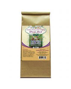 Cascara Sagrada Bark (Rhamnus purshiana) Herbal Tea (1lb/454g) BULK - Swedish Bitters Herb Company Private Stock