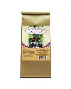 Elderberry (Sambucus nigra) Herbal Tea (1lb/454g) BULK - Swedish Bitters Herb Company Private Stock