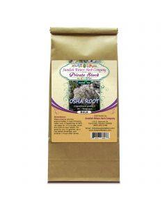 Osha Root (Ligusticum porteri) Herbal Tea (1lb/454g) BULK - Swedish Bitters Herb Company Private Stock